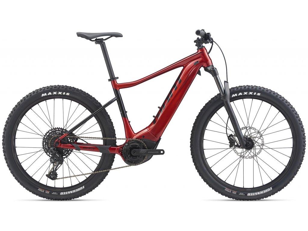 GIANT FATHOM E+ 1 PRO METALLIC RED/BLACK 2020 (Veľkosť: XL)