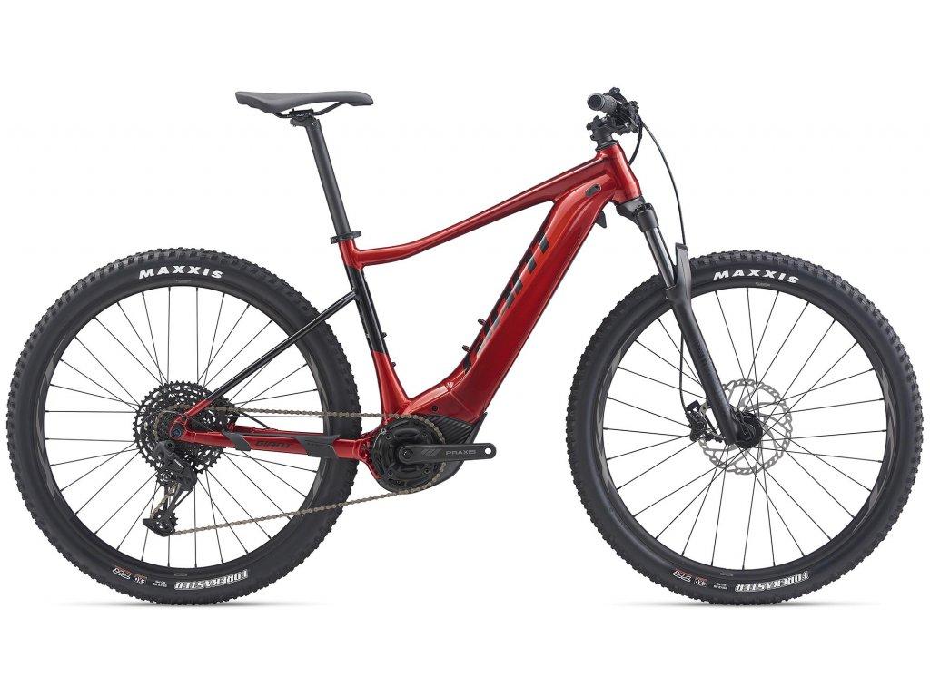 GIANT FATHOM E+ 1 PRO 29 METALLIC RED/BLACK 2020 (Veľkosť: XL)