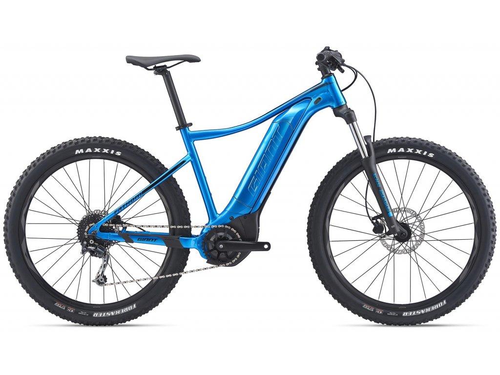 GIANT FATHOM E+ 3 METALLIC BLUE/BLACK 2020 (Veľkosť: XL)