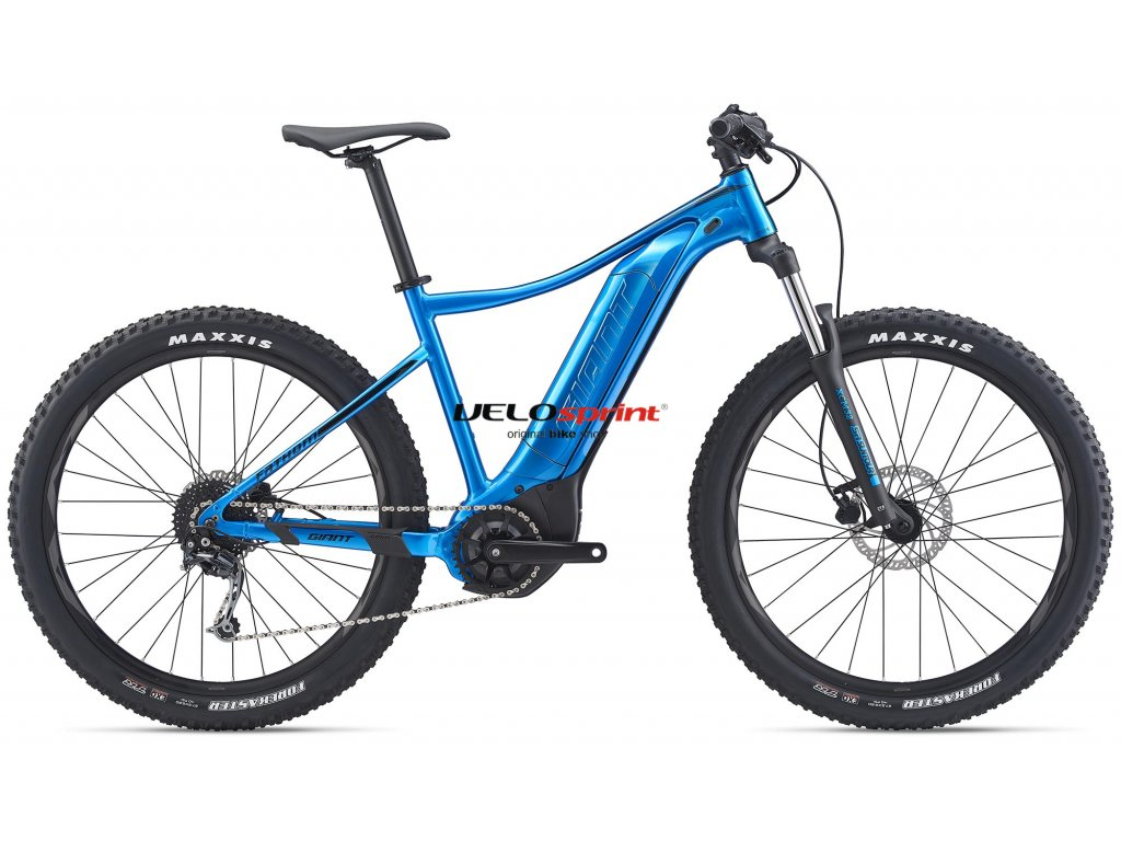 GIANT FATHOM E+ 3 METALLIC BLUE/BLACK 2020