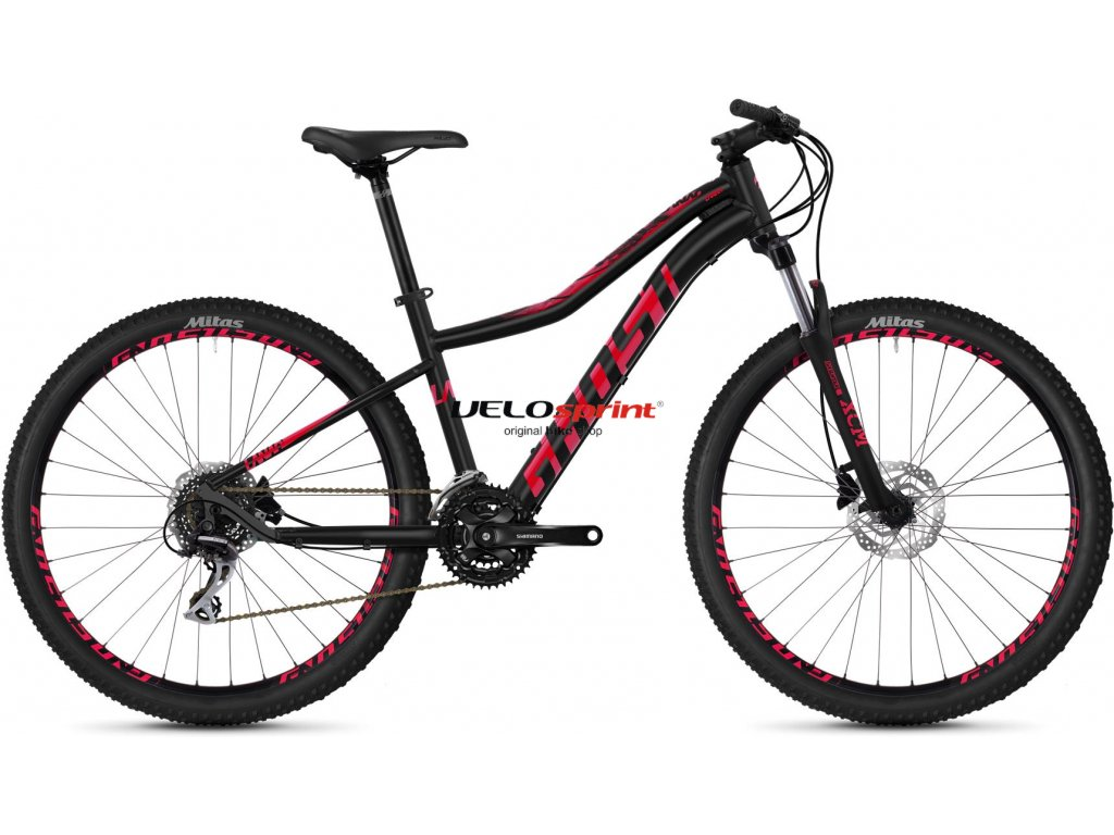 GHOST LANAO 3.7 JET BLACK/RUBY PINK 2020