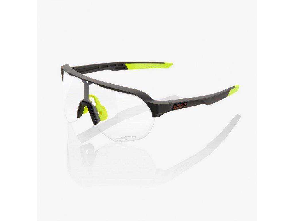 100% S2 - Soft Tact Cool Grey - Photochromic Lens Okuliare