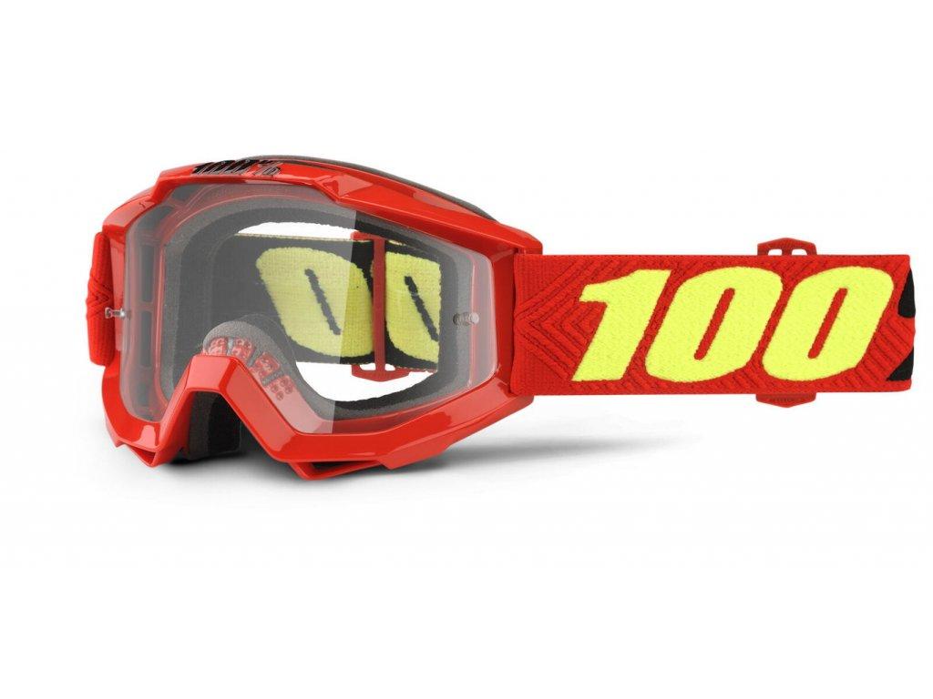 100% ACCURI Goggle Saarinen - Clear Lens Okuliare
