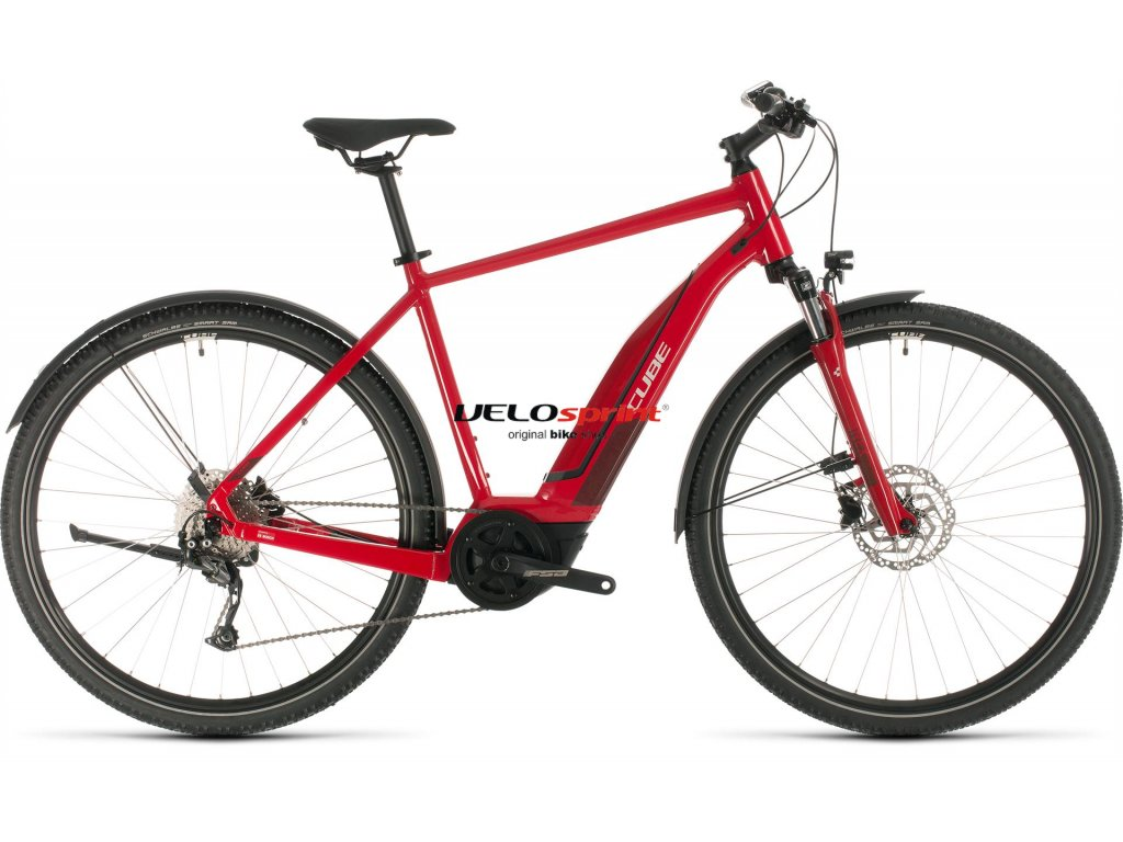 CUBE NATURE HYBRID ONE 400 ALLROAD RED-N-RED 2020