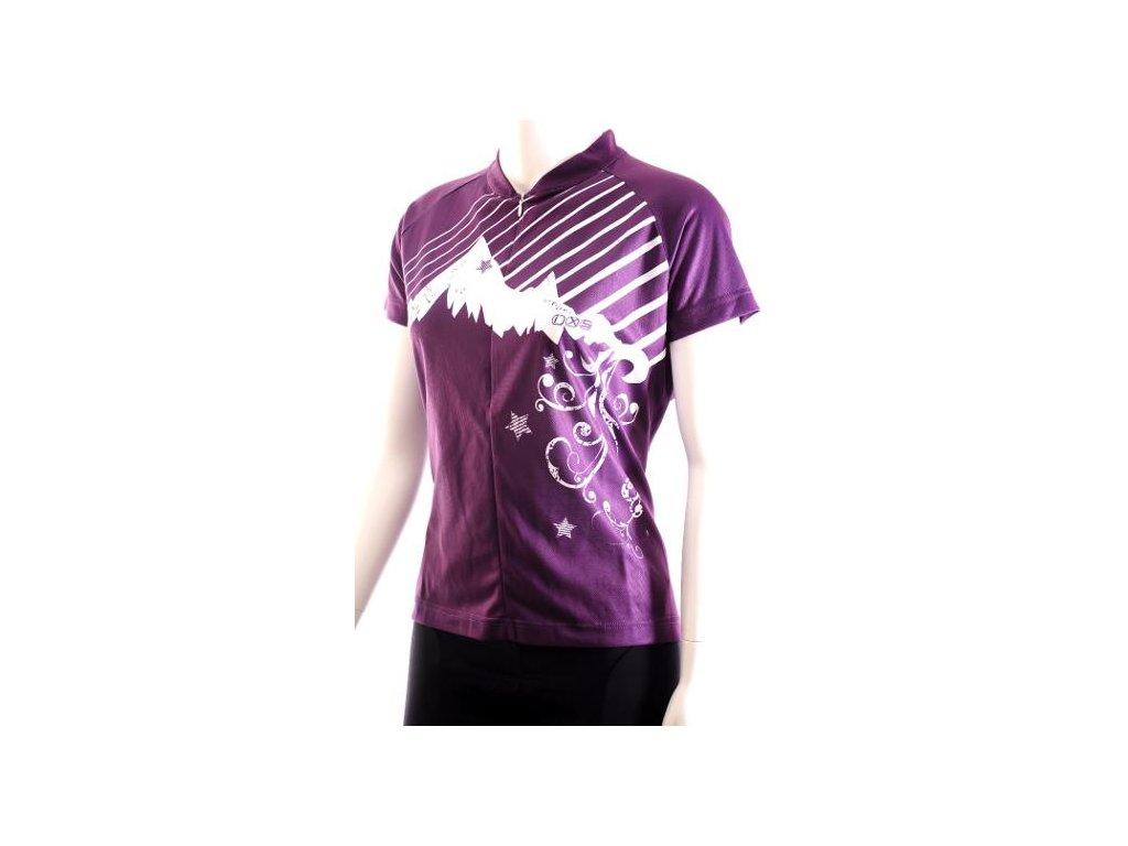 Dámsky dres IXS Gjoa MTB Purple White