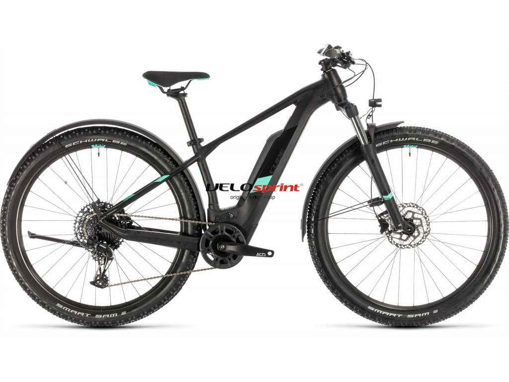 CUBE ACCESS HYBRID PRO 500 ALLROAD BLACK-N-MINT 2020