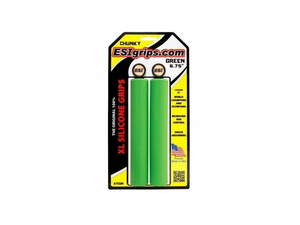 ESI grips Chunky XL Green