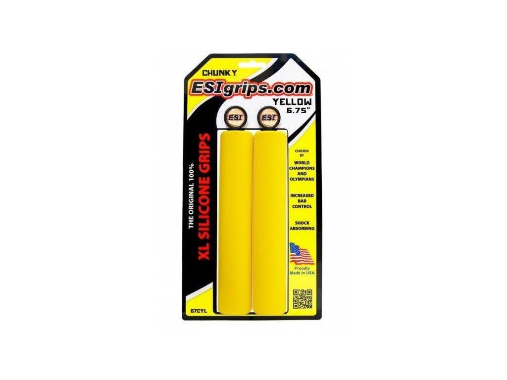ESI grips Chunky XL Yellow
