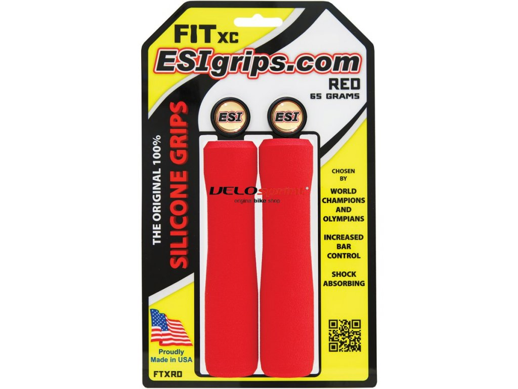 ESI grips MTB FIT XC Red