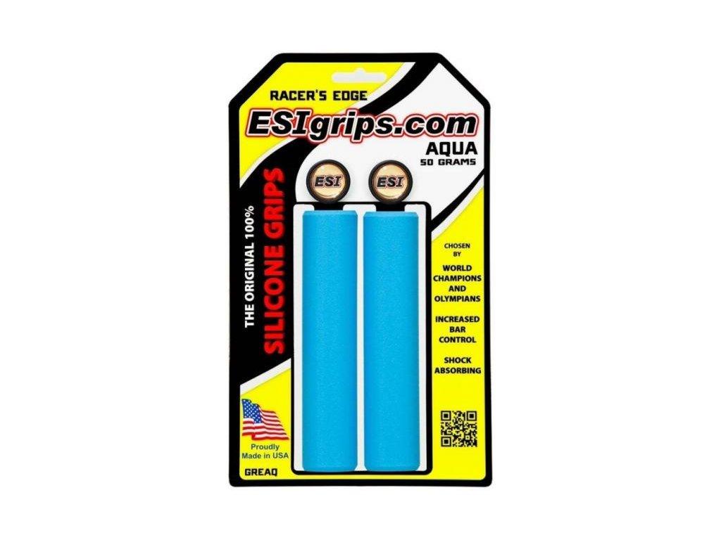 ESI grips MTB Racer's Edge Aqua