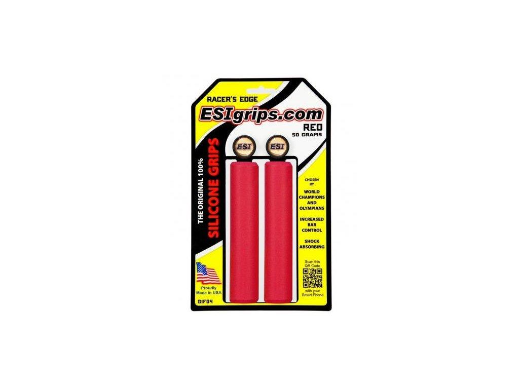 ESI grips MTB Racer's Edge Red