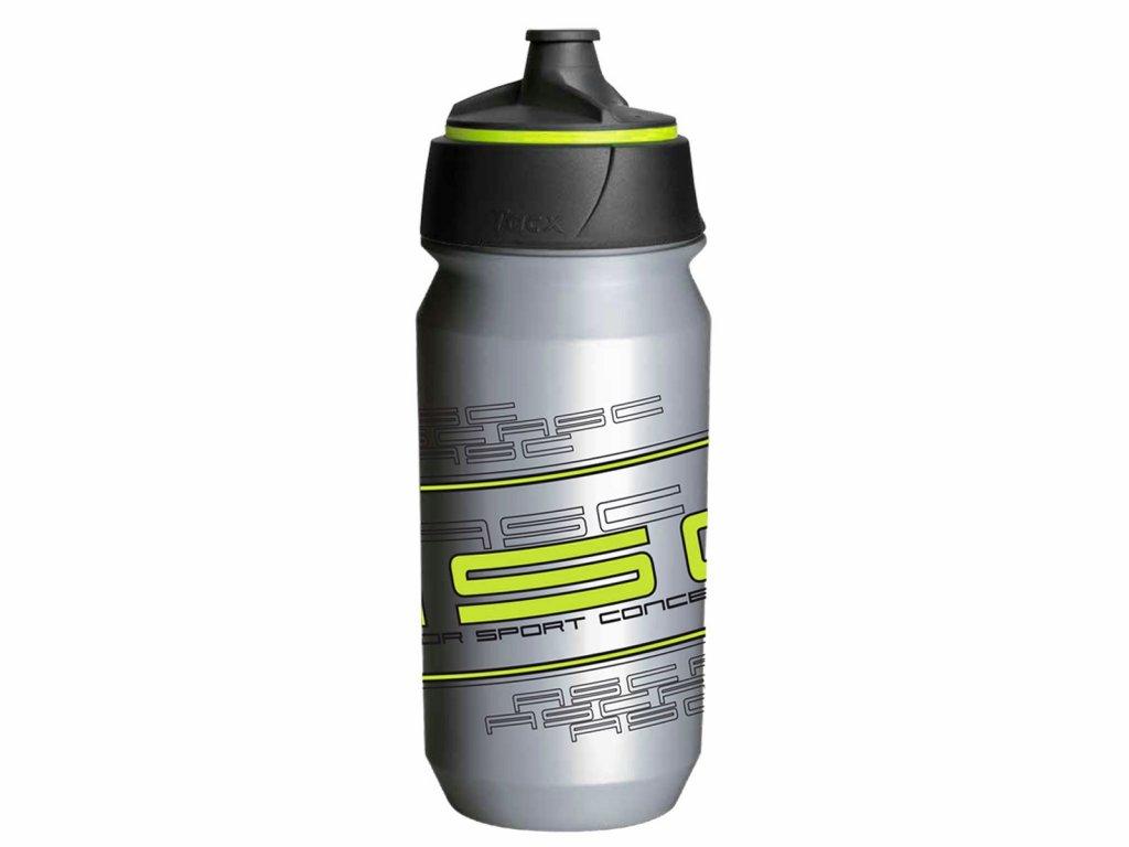 Fľaša AUTHOR Ab-Tcx-Shanti 0,6L Strieborná/Neón Žltá