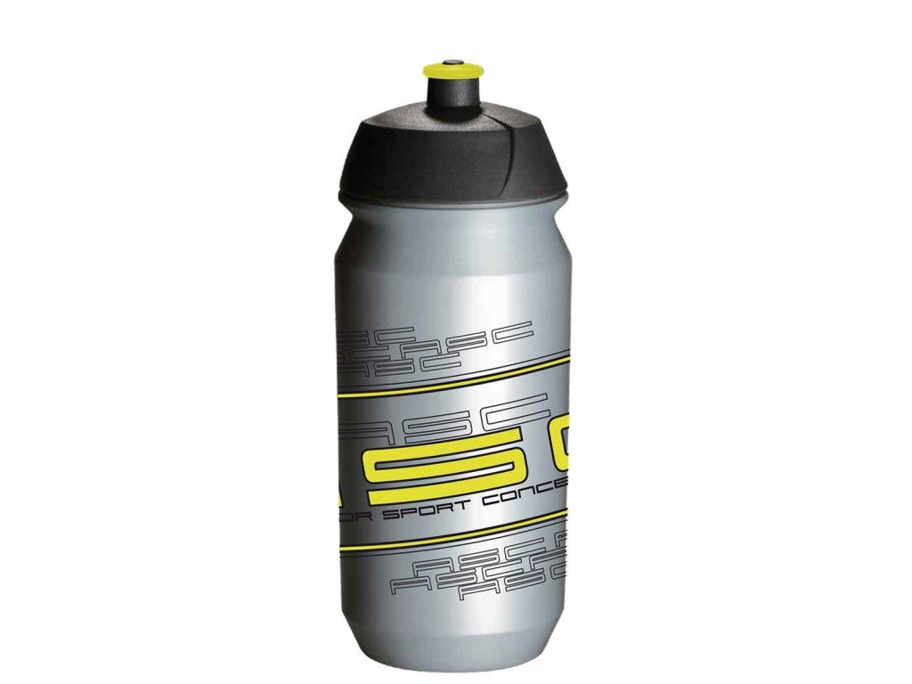 Fľaša AUTHOR Ab-Tcx-Shiva 600 Ml Strieborná/Neón Žltá