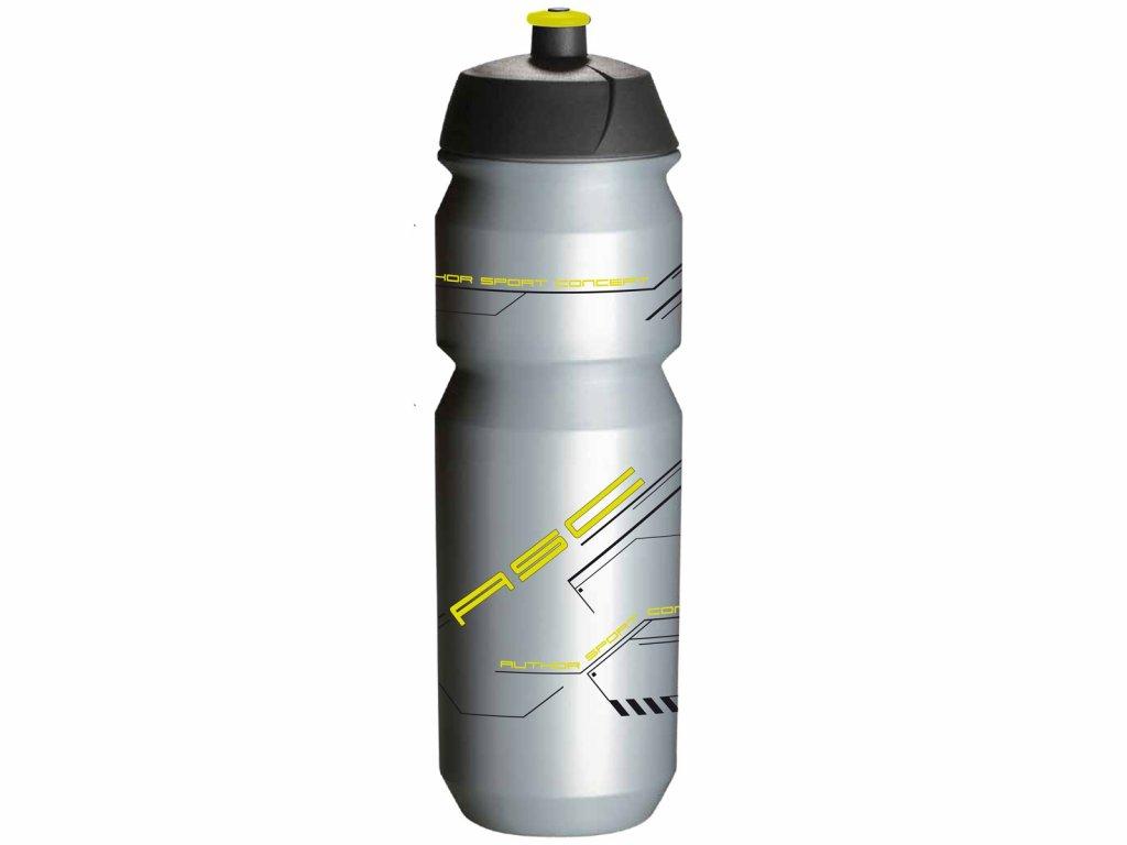 Fľaša AUTHOR Ab-Tcx-Shiva X9 0,85 Strieborná/Neón Žltá