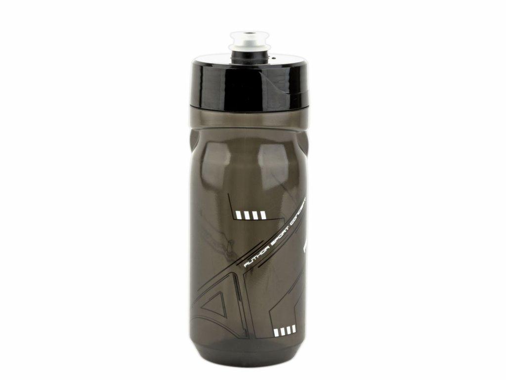 Fľaša AUTHOR Ab-Screw On X9 0,6 L Transparentná/Čierna/Biela