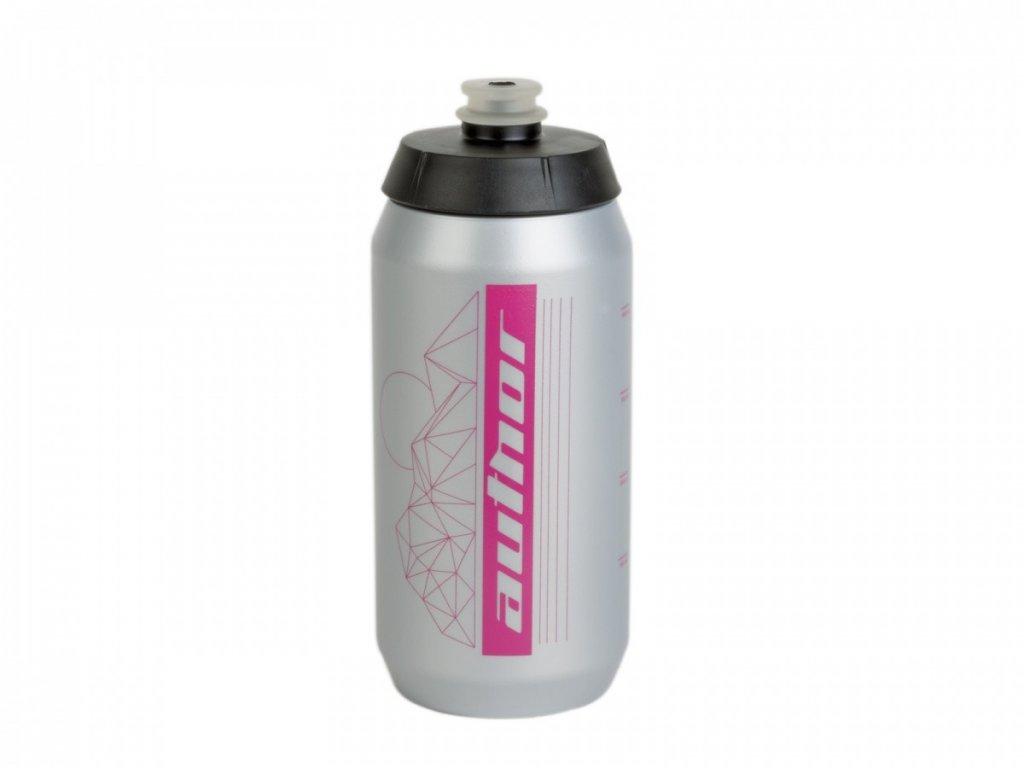 Fľaša AUTHOR Ab-Flash X9 0,55 L Strieborná/Ružová