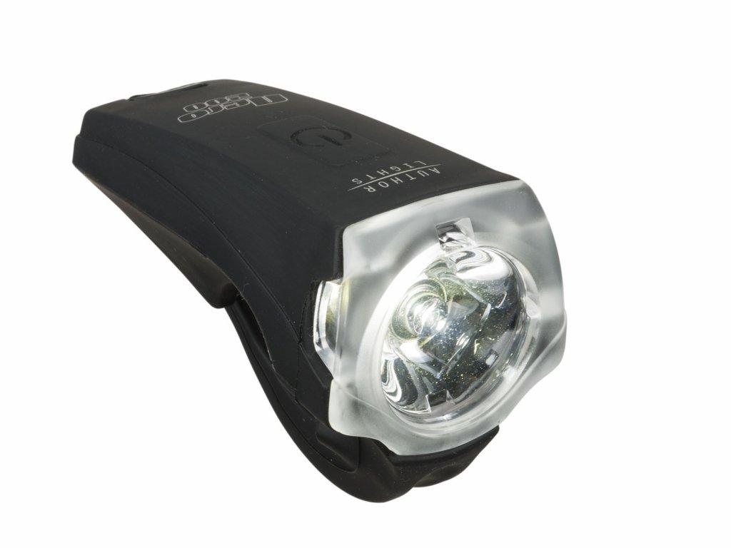 Svetlo Predné AUTHOR A-Nero 300 Lm Usb Čierna