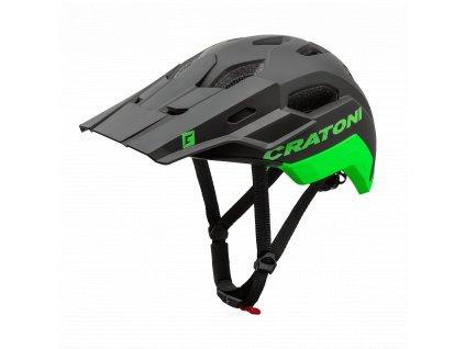 Prilba CRATONI C-Maniac 2.0 Trail - Black-Neongreen Matt