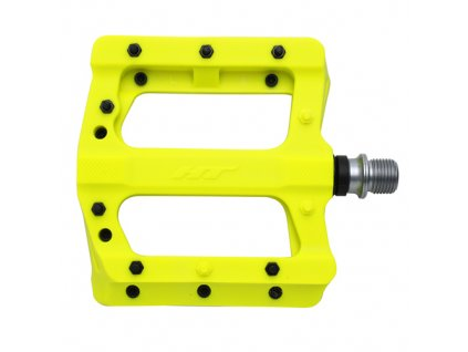 Pedále HT COMPONENTS Pa01A, Yellow