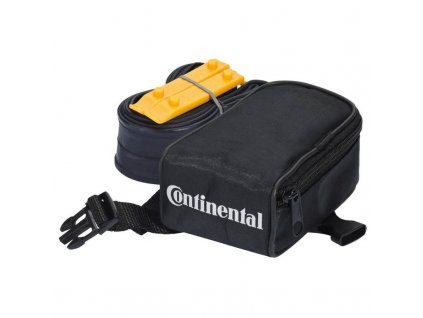 "Continental Kapsička pod sedlo/ Tube bag with MTB 27.5 tube FV42 and 2 tire levers MTB 27,5"" Galuskový 42 mm"