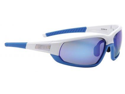 BBB BSG-4572 Adapt Športové Okuliare S Vymeniteľnými Zorníkmi Bielo / Modrá