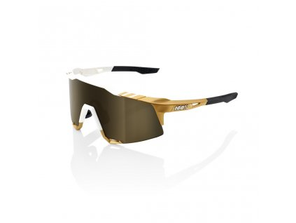 100% SPEEDCRAFT - Peter Sagan LE White Gold - Soft Gold Mirror LE 2020