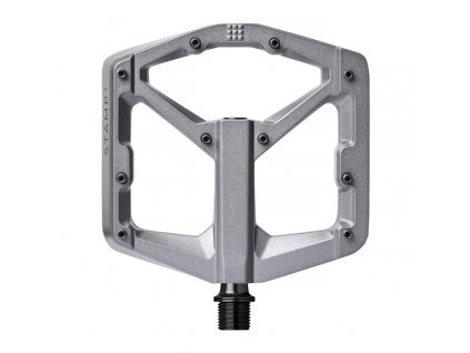 PEDALE CRANKBROTHERS STAMP 3 LARGE GREY MAGNESIUM