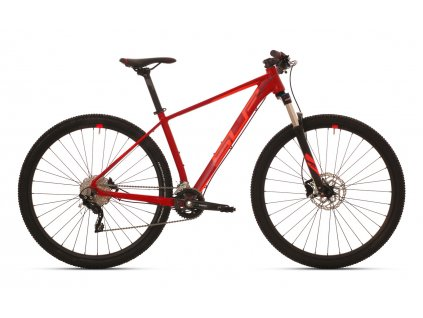 SUPERIOR XC 889 MATTE BRICK RED/NEON RED 2020