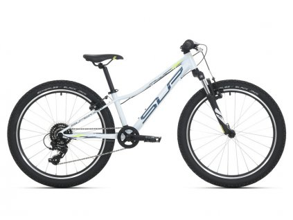 Superior Racer XC 24 Gloss White/Petrol Blue/Neon Yellow 2021