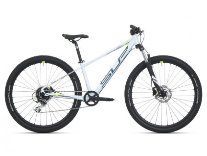 Superior Racer XC 27 DB Gloss White/Petrol Blue/Neon Yellow 2021