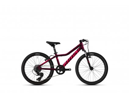 """GHOST Lanao 20"""" Essential Blackberry/Electric Pink 2021"""