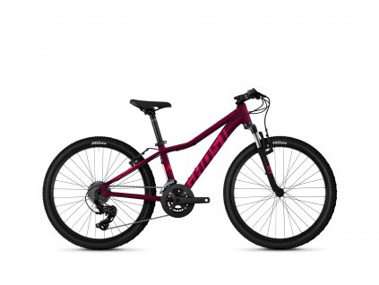 """GHOST Lanao 24"""" Base Blackberry/Electric Pink 2021"""