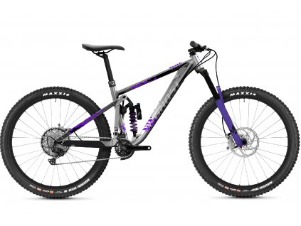 GHOST Riot Enduro Full Party Silver/Electric Purple 2021