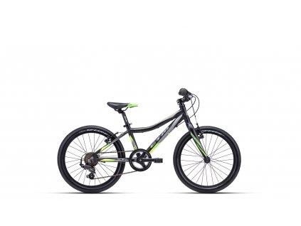 CTM Jerry 3.0 Matná Čierna/Zelená 2021
