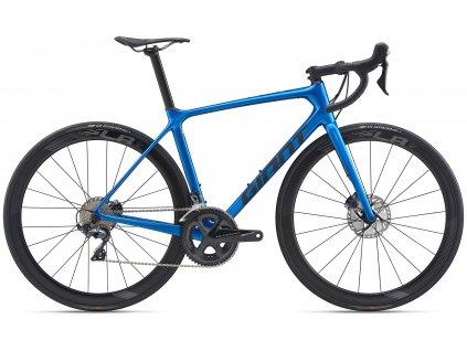 GIANT TCR ADVANCED PRO 2 DISC GLOSS BLUE/MATTE BLACK 2020 (Veľkosť: XL)