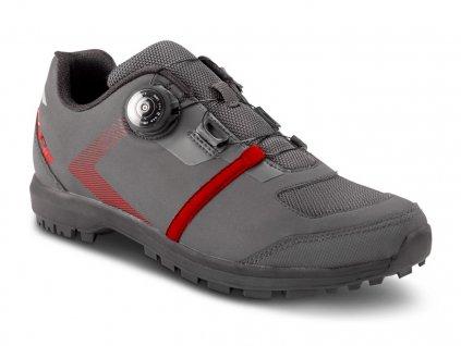 CUBE Tretry Atx Loxia Pro Dark Grey N Red