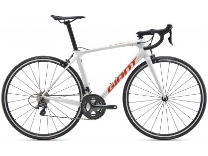 GIANT TCR ADVANCED 3 WHITE/ORANGE 2020 (Veľkosť: XL)