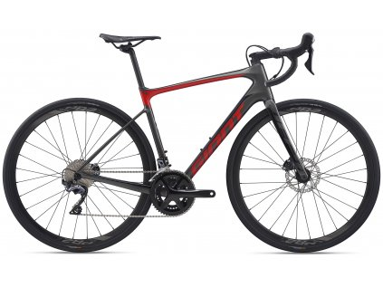 GIANT DEFY ADVANCED 1 CHARCOAL/PURE RED 2020