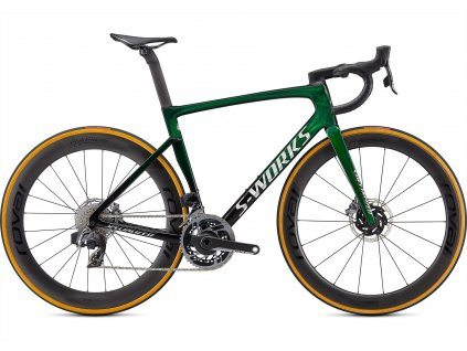 SPECIALIZED S-Works Tarmac SL7 - Sram Red eTap Axs Green Tint Fade Over Spectraflair/Chrome 2021