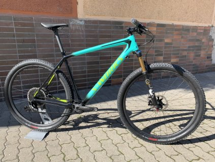 SPECIALIZED S-Works Epic Hardtail Gloss Acid Mint Cosmic Black Hyper Green 2018