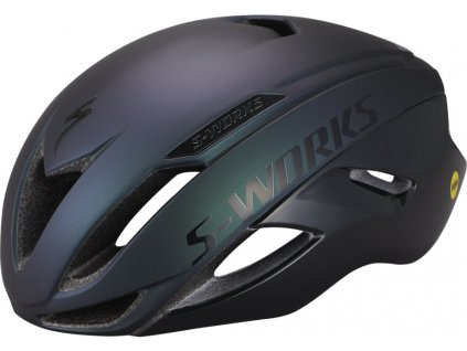 SPECIALIZED S-WORKS Evade II Angi Mips Holiday Satin Chameleon/Gloss Black