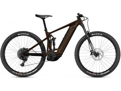 GHOST E-Riot Trail CF Advanced - Chocolate/Brown 2021