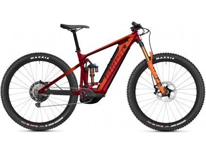 GHOST E-Riot Trail CF Pro - Dark Red/Orange 2021