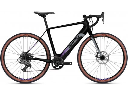 GHOST E-Road Rage Endless 27.5 LC - Midnight Black/Cool Grey/Purple 2021