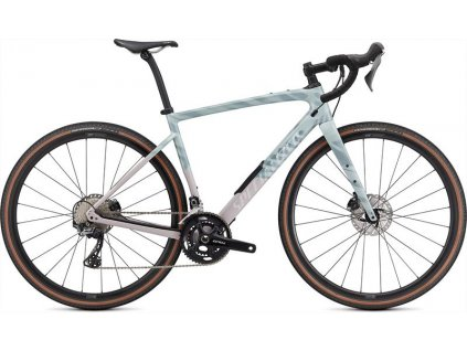 SPECIALIZED Diverge Comp Carbon Gloss Ice Blue/Clay/Cast Umber/Chrome/Wild Ferns 2021
