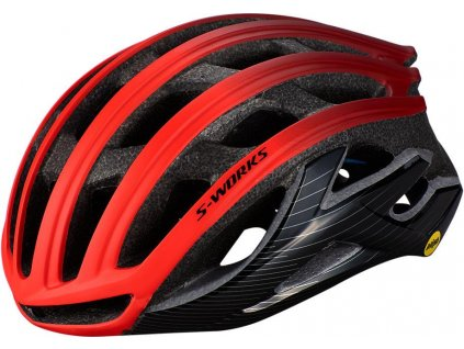 SPECIALIZED S-Works Prevail II With Angi Rocket Red/Crimson/Black