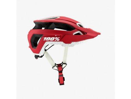 100% ALTEC Helmet w Fidlock CPSC/CE Deep Red