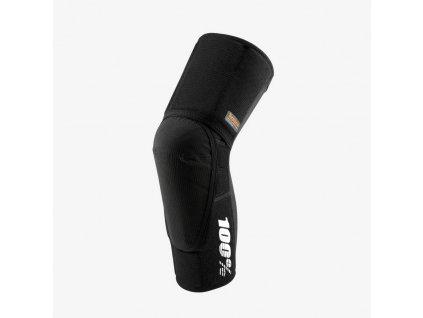 100% TERATEC PLUS Knee Guard Black