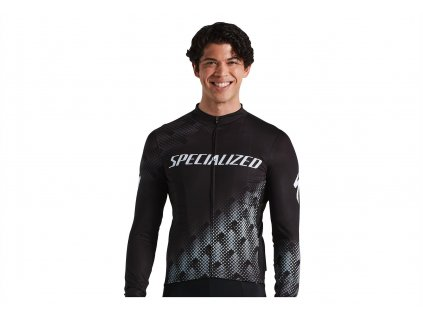 SPECIALIZED RBX Comp Logo Long Sleeve Jersey Black