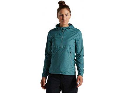 SPECIALIZED Women's Trail Wind Jacket Dusty Turquoise